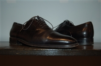 Black Leather Bruno Magli Oxford, size 8.5