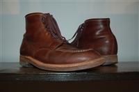 Chestnut Alden Boots, size 8
