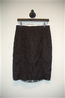 Black Lace Judith & Charles Pencil Skirt, size 4
