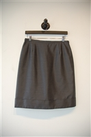 Dark Silver Max Mara Pencil Skirt, size 6