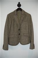 Hickory Etro Blazer Jacket, size 10