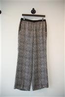 Black & White Robert Rodriguez Wide-Leg Trouser, size 6