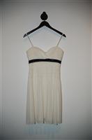 Cream BCBG Maxazria Cocktail Dress, size 4