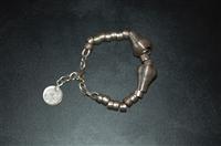 Sterling Silver No Label Bracelet, size O/S