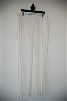 Bright White Theory Trouser, size 12