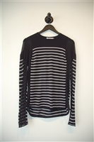 Navy & White Alexander Wang - T Pullover, size S
