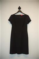 Basic Black No Label Cocktail Dress, size 8