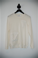Cream Altuzarra Pullover, size S