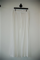 Bright White Theory Trouser, size 8