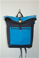 Colour Blocked Coach Backpack, size L