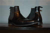 Black Leather Church's Chelsea Boots, size 10