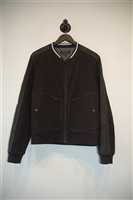 Basic Black Rag & Bone Bomber Jacket, size L