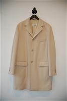 Pale Beige Pal Zileri Coat, size L