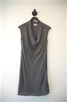 Dark Silver Helmut Lang Shift Dress, size 2