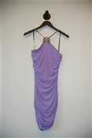 Lilac Versace Cocktail Dress, size 4