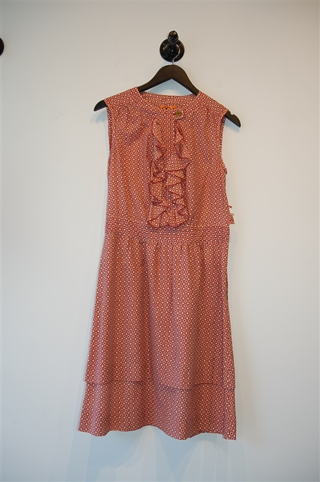 Geometric Tory Burch Casual Dress, size 6