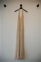 Champagne Andrea Miramonti Gown, size 10