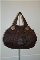 Dark Leather Gucci Hobo, size XL