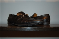 Black Leather Gucci Loafer, size 8
