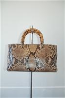 Snakeskin Gucci Shopper, size M
