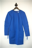 Royal Blue Helmut Lang Cocktail Dress, size S