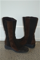 Black & Brown Aquatalia Boots, size 8.5