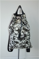 Black & White Jil Sander Backpack, size L