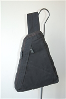 Basic Black Prada Backpack, size S