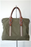 Military Green Prada Tote, size L