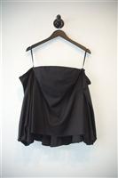 Basic Black Milly Off-Shoulder Top, size 8