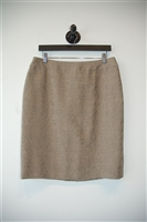 Beige Armani Collezioni Pencil Skirt, size 10
