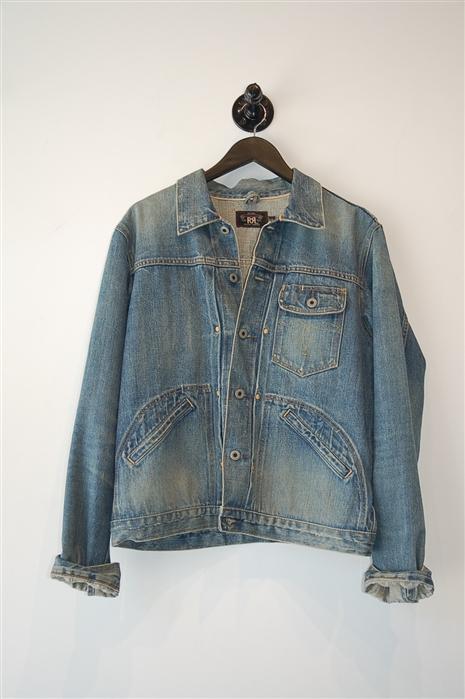 Faded Denim Ralph Lauren - RRL Denim Jacket, size M