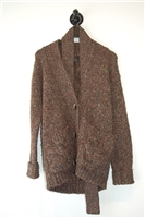 Marled brown Line Cardigan, size 8