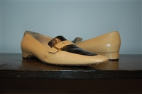 Warm Beige Chanel - Vintage Loafer, size 9