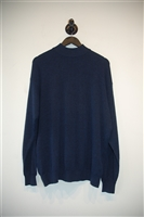 Midnight Blue Canali Pullover, size XL