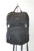 Basic Black Prada Backpack, size L