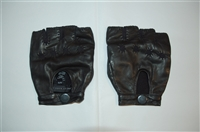 Black Leather Marc by Marc Jacobs Gloves, size O/S