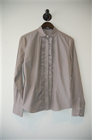 Beige Antonio Fusco Button Shirt, size 8