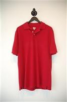 Dark Red Armani Jeans Polo, size L