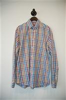 Check Paul & Shark Button Shirt, size M