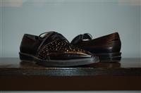Black Leather Robert Clergerie Derby, size 8