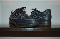 Navy Hogan Sneaker, size 10