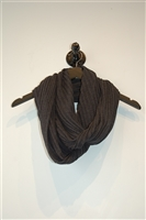 Charcoal No Label Scarf, size O/S