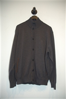 Charcoal Paul & Shark Sweater Jacket, size XL