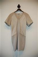 Taupe Helmut Lang Sheath Dress, size 6