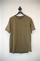 Military Green Rag & Bone T-Shirt, size L