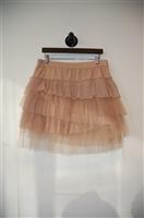 Beige BCBG Maxazria Short Skirt, size L