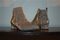 Mixed Metals Robert Clergerie Ankle Boots, size 8