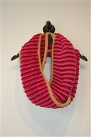 Pink Tones No Label Scarf, size O/S