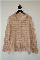 Pale Pink Yoshiki Hishinuma Button Shirt, size M